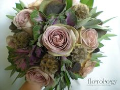 Amnesia and sage wedding bouquet by Florology Wedding and Event Floral Design