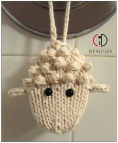 Knitting pattern for Woolly Soap on a Rope and more sheep and lamb knitting… Knitting Projects, Crochet Projects, Knit Or Crochet, Crochet Hats, Crochet Sheep, Knitting Patterns, Crochet Patterns, Amigurumi Patterns, Soap On A Rope