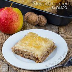 Din bucătăria mea: Placinta cu mere si nuca Cornbread, Coco, Good Food, Sweets, Eat, Cooking, Ethnic Recipes, Desserts, Sweet Treats