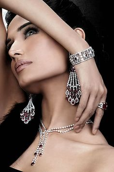 Fashion Jewelry: - Sterling silver - Silver plated - Pearls - Stones - Gold - Diamond - Cubic zirconia - Necklace lengths - Ring sizes - Bracelets - Barrel clasp - Lobster claw clasp - Spring ring clasp - Earrings - Hoops - Door knocker hoops - Rectangular / oval hoops - Semi-Hoops - Half-Hoops - J-Hoops - Care information