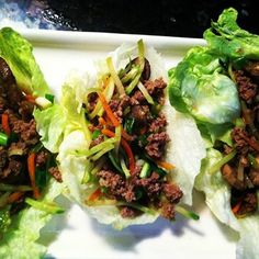 Asian Beef and Mushroom Cups!