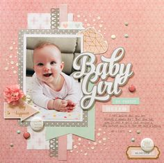 My happy place...: Guest Designer projects for D-lish Scraps