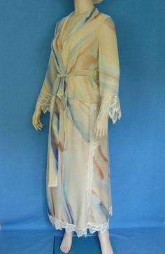Weiteres - Zweiteiliges Seidenkleid mit französischer Spitze - ein Designerstück von hofatelier-mode bei DaWanda