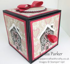 Last year I did a tutorial for a 2 1/2 inch Gift Box with Drawer. It proved to be very popular.   So with that in mind, I have upsized the ...
