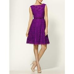 Nanette Lepore Balloon Sleeveless Lace Dress    Absolutely love this dress!!!!! Want it badly!!! <3 <3 <3