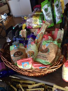 35 creative diy gift basket ideas for this holiday basket ideas we carry a large assortment of gluten free pasta negle Images