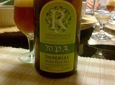 Cerveja Renaissance M.P.A., estilo Imperial / Double IPA, produzida por Renaissance Brewing, Nova Zelândia. 8.5% ABV de álcool.