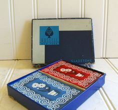Vintage Russell New York Playing Cards Set of 2 by DivineOrders, $11.00