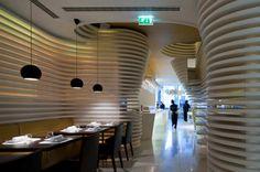 great sushi cafe design in Lisbon design in Portugal design by Saraiva+Asociados