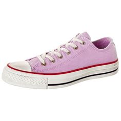 Converse | All Star Washed OX Cotton Sneaker Damen | lila-weiß | VAOLA