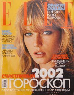Angela Lindvall ELLE Ukraine #1 2002