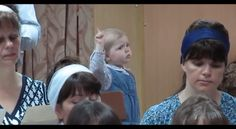 Passion is everything – This is the lesson a baby girl teaches us when she conducts a chorus