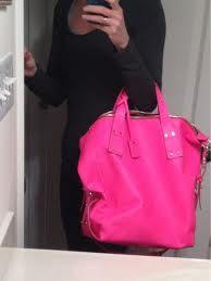 Oversized neon bag