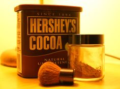 Salubrious Exclamation: How to Use Cocoa Powder as a Natural Bronzer or as Contouring Makeup