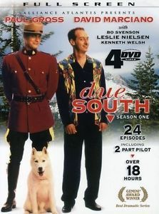 Due South Season 1 DVD 2008 4 Disc Set Paul Gross David Marciano Canadian Mounti | eBay