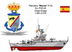 Patrullero clase Anaga P-23 Marola