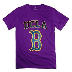 PRODUCT DETAILS : The Men s Cool University Of California Los Angeles Short Sleeve Tee Would Be The Best Gift For Yourself, Standard US Size,Great Quality And High Printing.100% Cotton.machine Wash.Short [ ]