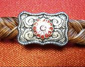Authentic Horse Hair Barrette Auburn with by OcalaCountryVentures. $19.99, via Etsy.