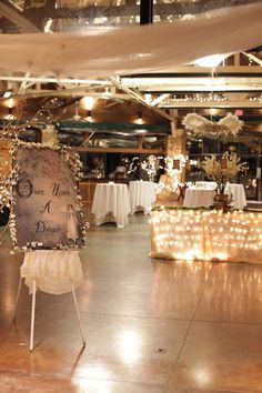 Sweet Eye Candy Creations I like the lights underneath the table cloth. Did that at my wedding Debut Themes, Debut Ideas, Dance Themes, Debut Theme Ideas 18th, Prom 2016, Prom Decor, Wedding Decorations, Quince Decorations, Mormon Prom