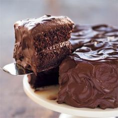 Devil's Food Layer Cake... 5 star recipe from Williams Sonoma