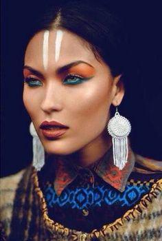 disfraces originales (3) : más de 30 ideas de maquillaje de carnaval