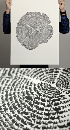 Awesome tree print of animals