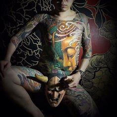 Search inspiration for a Japanese tattoo. Full Body Tattoo, Body Tattoos, Yakuza Style Tattoo, Exotic Tattoos, Japanese Koi, Oriental Tattoo, Irezumi, Traditional Tattoo, Tattoo Studio
