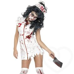 LIMITED TIME OFFER: Fever Zombie Nurse Halloween Costume at Lovehoney - Free Shipping & Returns on Halloween Costumes. We're giving away a fantastic Death By Orgasm Black Widow Vibrator worth $19.99 with selected Halloween costumes. See all Halloween Costumes with Free Black Widow Vibe