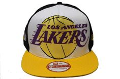 c5e75aec406 NBA Los Angeles Lakers 9fifty A-frame Snapback hats and caps by Nba Hats