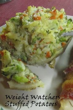 Weight Watchers Stuffed Potatoes (3 points per serving)