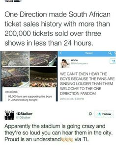 I'm sooo proud :,)) << haters gonna hate and our boys gonna slay! #directionerforlife ♥♥ (and Niall girl ; p )