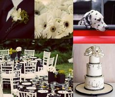 Melissa's Smitten: Inspiration Board 31: Firefighter Wedding (it even has Kane in this :) )