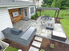Outdoor Living Patio installed in Lancaster, PA