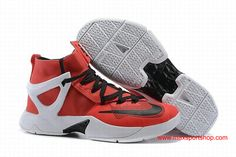 9446c91286e 2016 Nike LeBron Classic Ambassador 8 Red Black White Basketball Shoes   80.00 Buy Nike Shoes