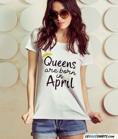Gift Idea <3  Just a Nice Gift for that Special Queen :) Free Fast Shipping! Made in the USA. By LeRage Shirts