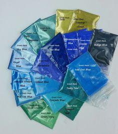 20 LOT- MICA MATTE GLITTER Soap Makeup Melt & Pour Shimmer Dye Pigment Colorant #GreatRack
