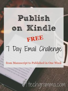 If you've finished your book but aren't quite sure what to do next, this challenge will help you publish on Kindle in no time at all!