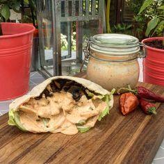 Svampkebab med världens godaste kebabsås – Matsinnet