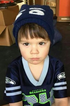 Thomas wearing his game face. #sofreakingcute Look at those rosy cheeks and gorgeous eyes!!!