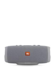 Jbl Grey Charge 3 Portable Bluetooth Speaker