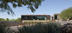 The Yerger Residence comes from Chen + Suchart Studio and is located in Phoenix, Arizona. Since Camelback Mountain dominates the landscape, the architects developed the eastern wing of this residence so as to take full advantage of the fantastic views. From the exterior, the house has a highly interesting look which from afar doesn't give …