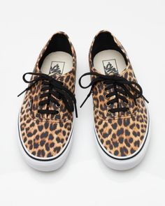 Authentic In Leopard. I love vans!