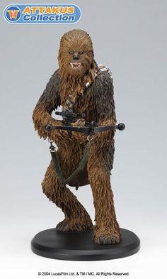Attakus Chewbacca Statue. #Starwars #Statue #Figures #Gosstudio #gift