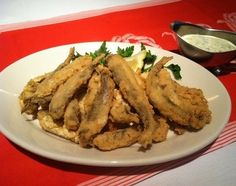 Chicago Style Smelts! I've never seen Smelts anywhere other than Chicago...