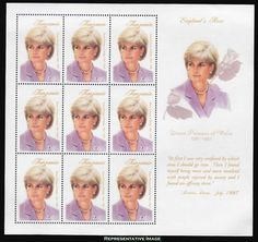 Tanzania 1998 Princess Diana in Memoriam, England's Rose MS MUH Princess Of Wales, Princess Charlotte, Royals Today, Bride Dolls, Dont Call Me, Lady Diana Spencer, All Family, Tv Guide, Prince Charles