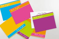 Banded Correspondence Note Cards