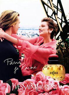 Yves Saint-Laurent Perfumes 1994 Paris Vintage advert Perfumes | Hprints.com