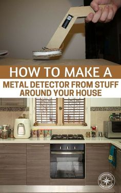 How To Make a Metal Detector - If anything this is a great project for the kids to get involved in and get excited about metal detecting. This is a really simple tutorial to do and you never know this little contraption may just be the ticket to your fortune. #shtf #survival #preparedness #prepper #diymetaldetector #metaldetector #diy