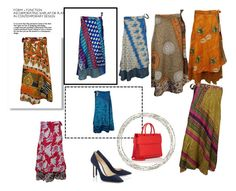 Bohemian Silk Reversible Wrap Skirts by boho-chic-2 on Polyvore featuring Givenchy