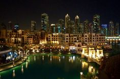 Souk al Bahar at night